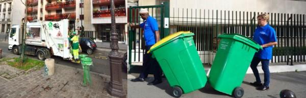 Société de nettoyage industriel : Bureaux Entreprises Copropriétés résidences Paris 75 77 78 91 92 93 94 95 Gestion des poubelles
