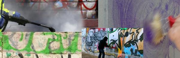 Nettoyage industriel Bureaux Entreprises Copropriétés Immeubles Résidences Paris 75 77 78 91 92 93 94 95 Nettoyage graffiti tag